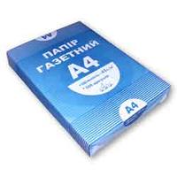 Газетная бумага А4, 500 листов a4.50.500a для печати