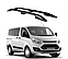 Рейлинги Ford Tourneo Custom 2014-2017 с металлическим креплением, фото 4