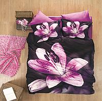 Постельное белье Luoca Patisca 3D сатин - Pink Lily