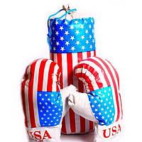 Набор для бокса детский USA BX 068-45 (маленький размер 38*14 см)