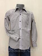 Стильная детская рубашка для мальчиков 110,116,122,128 роста