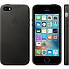 Кожаный чехол Apple Leather Case IPHONE 5/5S/SE (Black)