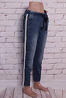 Джинсы на резинке женские спортивного стиля (размеры xs.s.m.m.l.xl)