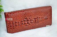 Стильный кошелек Крокодил ( Алигатор).