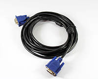 Шнур переходник VGA 3M 3+2, шнур vga 3 метра, кабель переходник vga