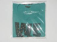 Пакеты прозрачные 240/350мм для упаковки одежды с липким клейкой лентой