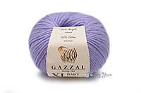 Турецкая пряжа Gazzal Baby Cotton XL сирень №3420