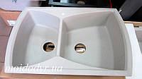 Гранитная угловая кухонная мойка Sinks Onda 20