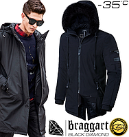Зимняя куртка парка Braggart Black Diamond - 3250 черный