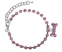 Ошейник - ожерелье с подвеской  (Код: 0103)