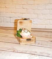 Шкатулка (Шкатулочка. Свадебная шкатулка) для колец и украшений