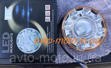 Вставка в фару d=14cm 21W LED (универсальная)