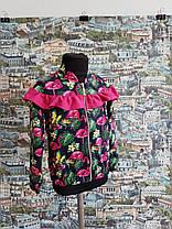 Кофта-бомбер фламинго р.116-134, фото 2