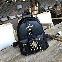 Женская красивый рюкзак + брелок (3 цвета)