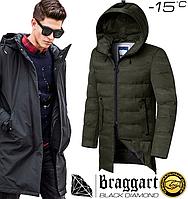 Мужская куртка парка Braggart Black Diamond - 9017 хаки