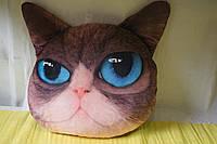 Подушка кот с 3D эффектом