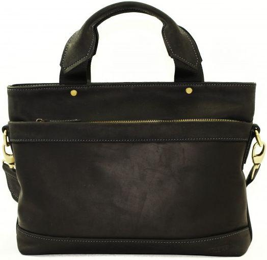 Чоловіча сумка зі шкіри VATTO MK13.2 KR670, чорний