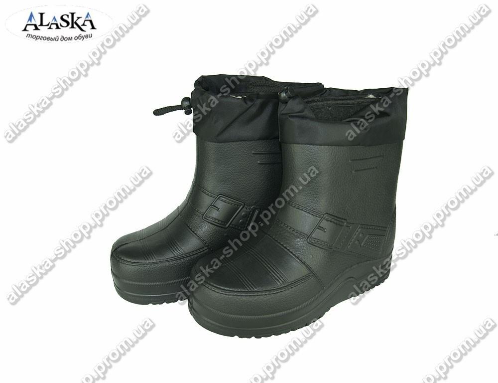 Мужские сапоги (Код: ГП-07 зав черный)