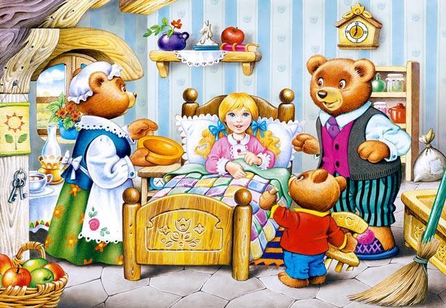 Пазлы Castorland Три медведя, 260 элементов