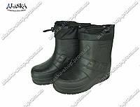 Мужские сапоги (Код: ГП-07 зав черный), фото 1