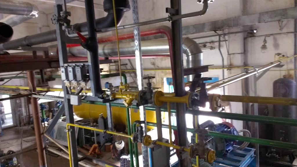 Проект реконструкции аммиачного холодильно-компрессорного цеха молокозавода мощностью 1,05МВТ.
