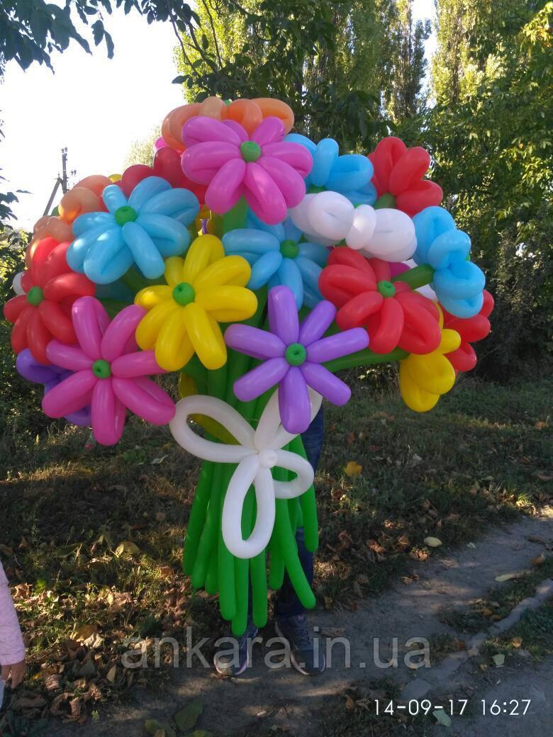 Букет, квіти з повітряних кульок