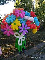 Букет, цветы из воздушных шаров