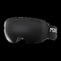 Горнолыжная маска Marker 3D+ MAP (black\black light HD) 2018
