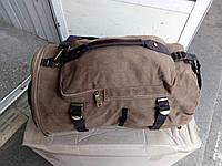 2в1 Сумка-рюкзак брезент
