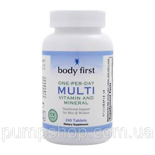 Вітаміни Body First One-Per-Day Multi 120 таб.