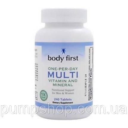 Вітаміни Body First One-Per-Day Multi 120 таб., фото 2