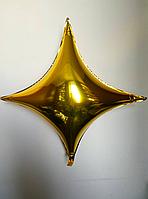 Фольгированный шар четырехугольная звезда 100×100 см