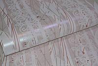 Обои на стену, рисунок, полоски,акрил на бумажной основе, Зарница 6470-01, 0,53*10м