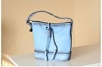 УЦЕНКА. Голубая сумка
