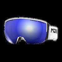 Горнолыжная маска Marker 3D+ MAP (white\blue HD mirror) 2018
