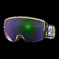 Горнолыжная маска Marker 3D+ MAP (neon yellow\green plasma mirror) 2018