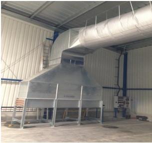 Расчет, поставка и монтаж холодильного оборудования склада хранения продукции 2700м.кв. с применением оборудования для поддержания низкой влажности 35% и текстильными воздуховодами, Ткам=+10*С.