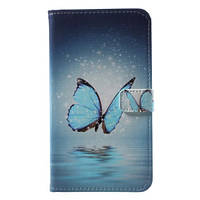 Чехол книжка PC Wallet Printing для Motorola Moto G5S Butterfly on Lake