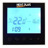 Сенсорный программируемый терморегулятор Heat Plus BHT 321GB Black