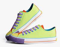 Шикарные разноцветные кеды, фото 1
