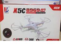 Квадрокоптер X-5C (8969) Игрушка TOY Drone