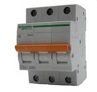 Автоматический выключатель Schneider Electric ВА63-С50/3