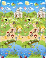 Развивающий коврик Babypol 1800x2000 Сказчный город/Маленькая страна
