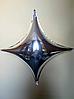Фольгированный шар четырехугольная звезда 100×100 см  Balloons
