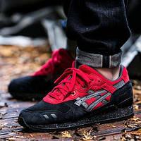 Мужские кроссовки Asics Gel Lyte III Black/Red