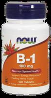 Витамин B-1 100mg Now Foods, 100 tabs