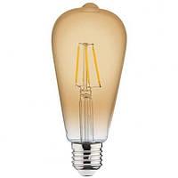 "Лампа ""RUSTIC VINTAGE-4"" 4W Filament led 2200К"