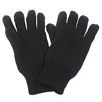 Зимние перчатки акрил+ Thinsulate, черные. MFH, Германия