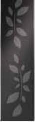 Решетка Стекло черное с рисунком ACO ShowerDrain E-Line 1200 мм