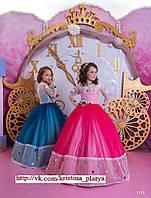 Детское нарядное платье BT-1145 - индивидуальный пошив